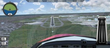 Взломанная Flight Simulator FlyWings 2017 на компьютер