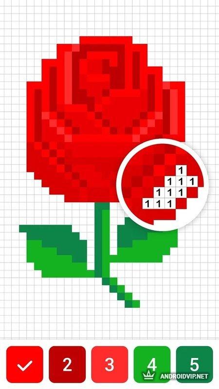 Скачать Draw.ly Color by Number Pixel Art Coloring .apk ...