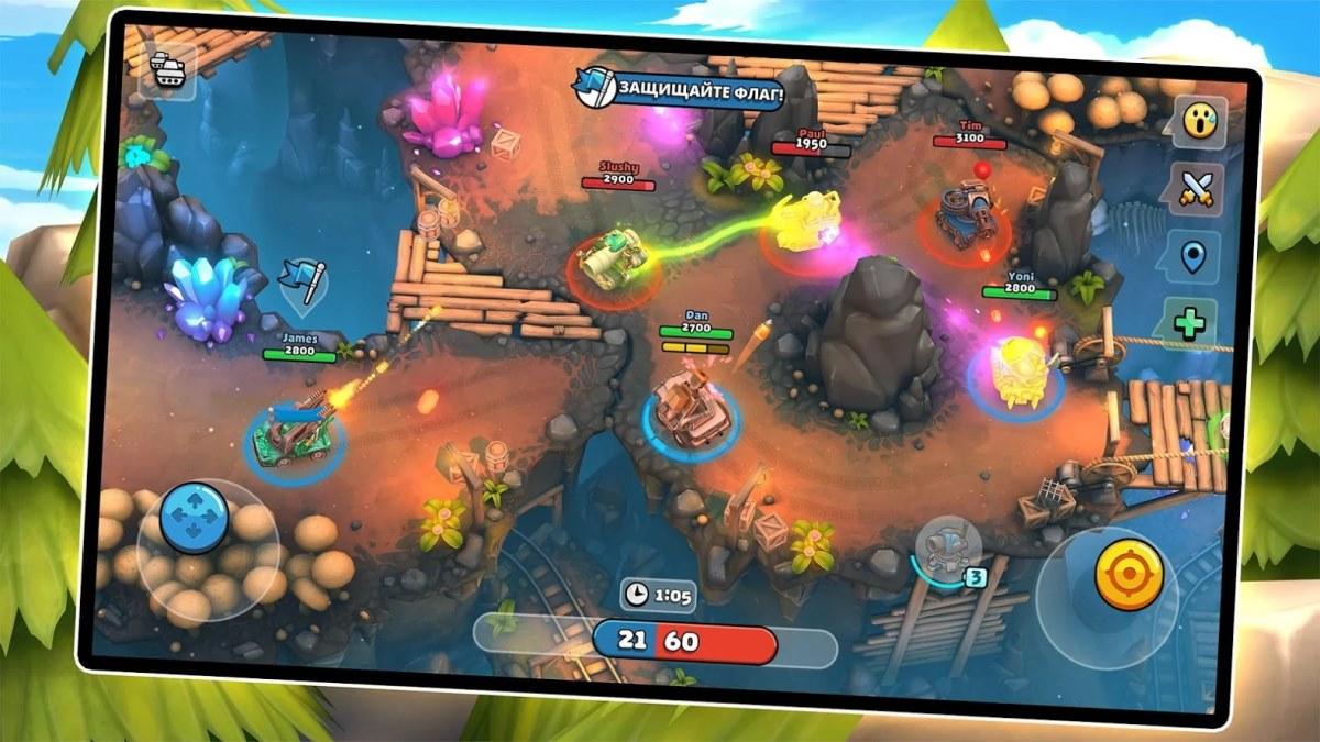 Игра Пико-танки: многопользовательский хаос на Андроид ...