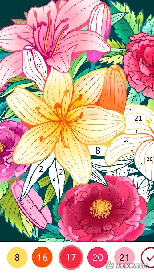 Скачать Coloren — Раскраска по номерам и головоломки .apk ...