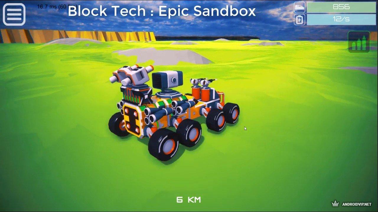 Онлайн игра Block Tech : Epic Sandbox Car Craft Simulator ...